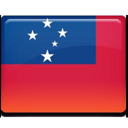 Samoa flag 256