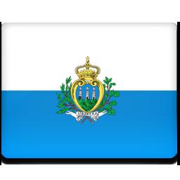 San marino flag 256