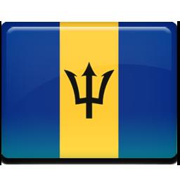 Barbados flag 256