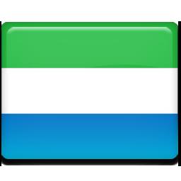Sierra leone flag 256