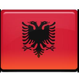 Albania flag 256