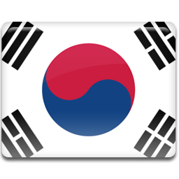 Korea flag 256