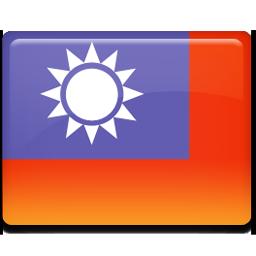 Taiwan flag 256