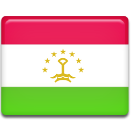 Tajikistan flag 256
