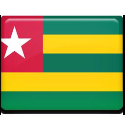 Togo flag 256