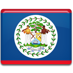 Belize flag 256