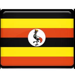 Uganda flag 256