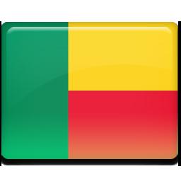 Benin flag 256