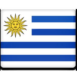 Uruguay flag 256