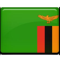 Zambia flag 256