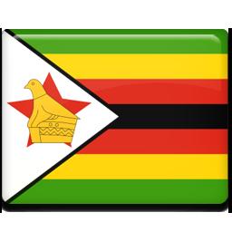 Zimbabwe flag 256