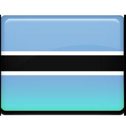 Botswana flag 256