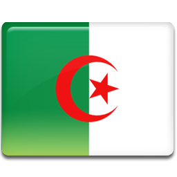 Algeria flag 256