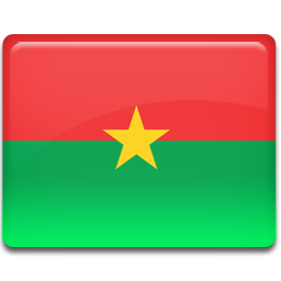 Burkina faso flag 256