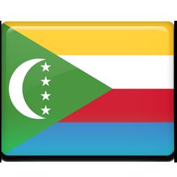 Comoros flag 256