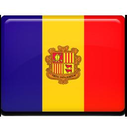 Andorra flag 256