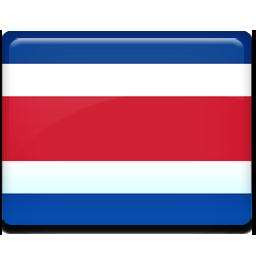 Costa rica flag 256