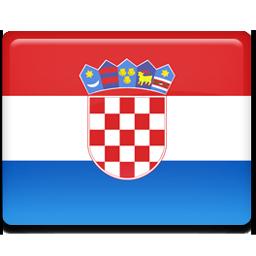 Croatian flag 256