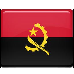 Angola flag 256