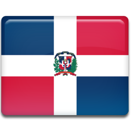 Dominican republic flag 256
