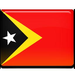 Timor leste flag 256