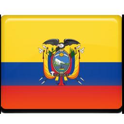 Ecuador flag 256