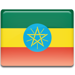 Ethiopia flag 256
