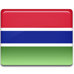 Gambia flag 256