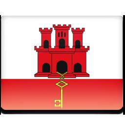 Gibraltar flag 256
