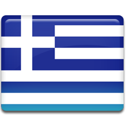 Greece flag 256