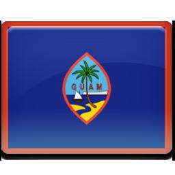 Guam flag 256